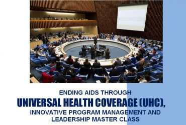 HIV/AIDS AND UNIVERSAL HEALTH COVERAGE PROGRAM LEADERSHIP AND MANAGEMENT TRAINING